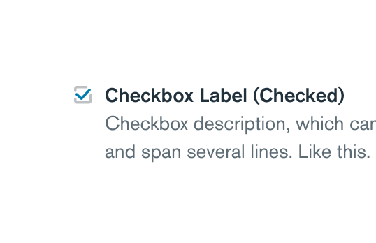 Learn more about Checkbox component